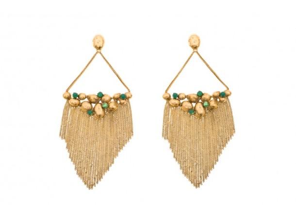 Cité d'or Earrings