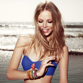 """They are like samba and they swing so cool"" – Hipanema jewellery S/S 2013"