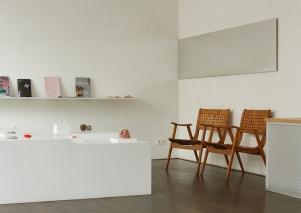 Gallery interior (detail) |Photography: Till Bortels